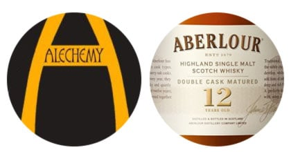 Alechemy Ten Story Hop Bomb and Aberlour 12yo